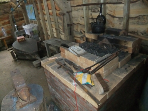The new forge at Plas Dwbl
